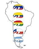 Anteater géant Amérique du Sud Illustration Libre de Droits