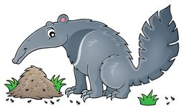 Anteater theme image 1 Royalty Free Stock Images