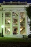 antebellum facade royaltyfri fotografi