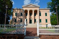 Antebellum Governor's Mansion Stock Photos