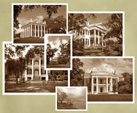 Antebellum Natchez Sepia Royalty Free Stock Photos