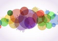 Antecedentes coloridos abstractos. Fotos de archivo libres de regalías
