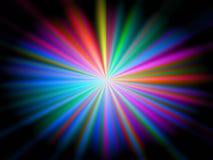 Antecedentes coloridos abstractos de las rayas Imagen de archivo
