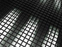 Antecedentes de cristal del extracto del azulejo. Foto de archivo libre de regalías