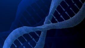 Antecedentes de la molécula de la DNA Fotografía de archivo libre de regalías
