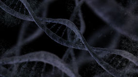 Antecedentes de la molécula de la DNA Foto de archivo