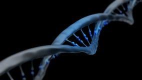 Antecedentes de la molécula de la DNA Foto de archivo libre de regalías