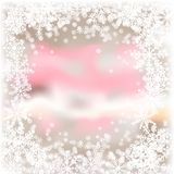 Antecedentes de la Navidad. Imagen de archivo