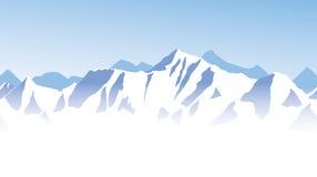Antecedentes de rango de montaña Foto de archivo libre de regalías