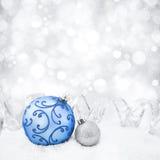 Antecedentes decorativos de la Navidad Imagen de archivo