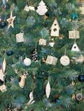 Antecedentes del árbol de navidad Imagen de archivo libre de regalías
