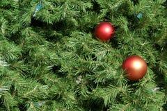 Antecedentes del árbol de navidad Fotos de archivo libres de regalías