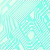 Antecedentes del chip de ordenador Imagen de archivo
