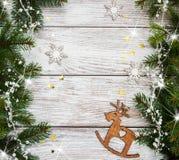 Antecedentes del día de fiesta de la Navidad Imagen de archivo libre de regalías