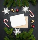 Antecedentes del día de fiesta de la Navidad Foto de archivo libre de regalías