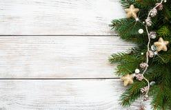Antecedentes del día de fiesta de la Navidad Fotos de archivo