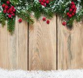 Antecedentes del día de fiesta de la Navidad Imagenes de archivo
