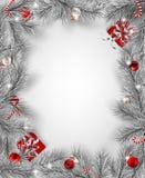 Antecedentes del día de fiesta de la Navidad ilustración del vector