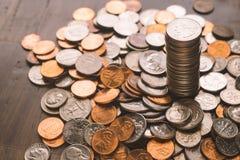 Antecedentes del dinero Fotografía de archivo libre de regalías