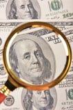 Antecedentes del dinero Foto de archivo libre de regalías