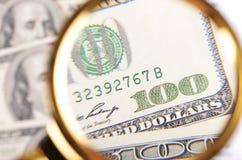 Antecedentes del dinero Foto de archivo