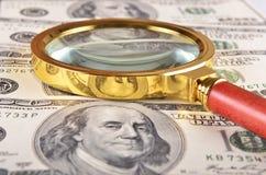 Antecedentes del dinero Imagen de archivo libre de regalías