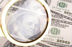 Antecedentes del dinero Imágenes de archivo libres de regalías