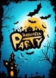 Antecedentes del partido de Halloween Foto de archivo