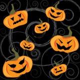 Antecedentes del partido de Halloween Foto de archivo libre de regalías