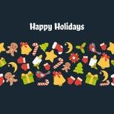 Antecedentes del vector de la Navidad fotografía de archivo