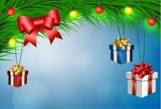 Antecedentes del vector de la Navidad stock de ilustración