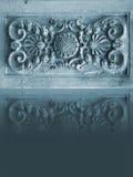 Antecedentes. Modelo de una piedra y de una reflexión Foto de archivo