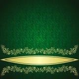 Antecedentes rifle-verdes de lujo. Fotografía de archivo
