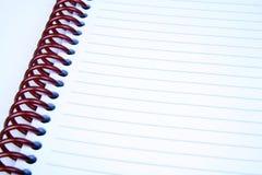 anteckningsbok Fotografering för Bildbyråer