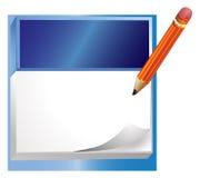 anteckningsbok vektor illustrationer