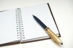 anteckningsbok för kontroll iii fotografering för bildbyråer