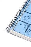 anteckningsbokcirklar Fotografering för Bildbyråer
