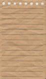 Anteckningsbokpapper Royaltyfri Bild