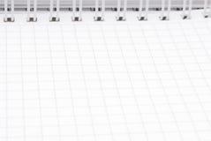anteckningsboksida Arkivbild