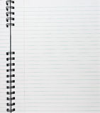 anteckningsbokspiral Arkivbild