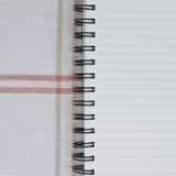 anteckningsbokspiral stock illustrationer