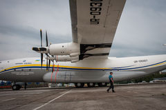 An-22 Antei Photographie stock