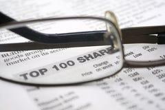 Anteile der Oberseiten-100 Lizenzfreie Stockfotografie