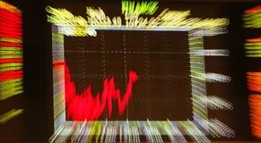 Anteilmarkt Lizenzfreies Stockfoto