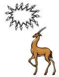 Antelope-100 illustration libre de droits