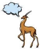 Antelope-100 illustration de vecteur