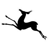 Antelope Animal Silhouettes Royalty Free Stock Photography