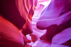 The Antelope Canyon Royalty Free Stock Photo