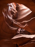 The Antelope Canyon Royalty Free Stock Images