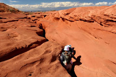 Antelope Canyon. Lower Antelope Canyon, near Page, Arizona, United States Royalty Free Stock Image